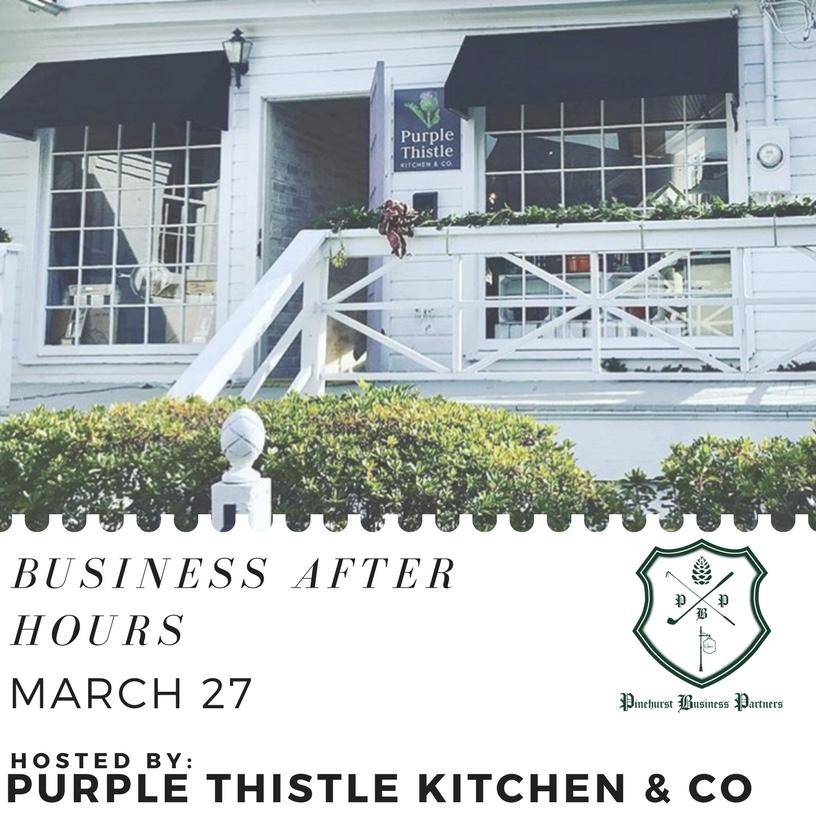 Business After Hours 3/27/18 @ Purple Thistle | Pinehurst | North Carolina | United States