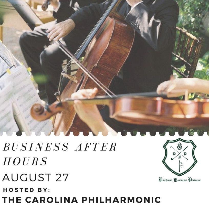 Business After Hours 8/27 @ Carolina Philharmonic | Pinehurst | North Carolina | United States