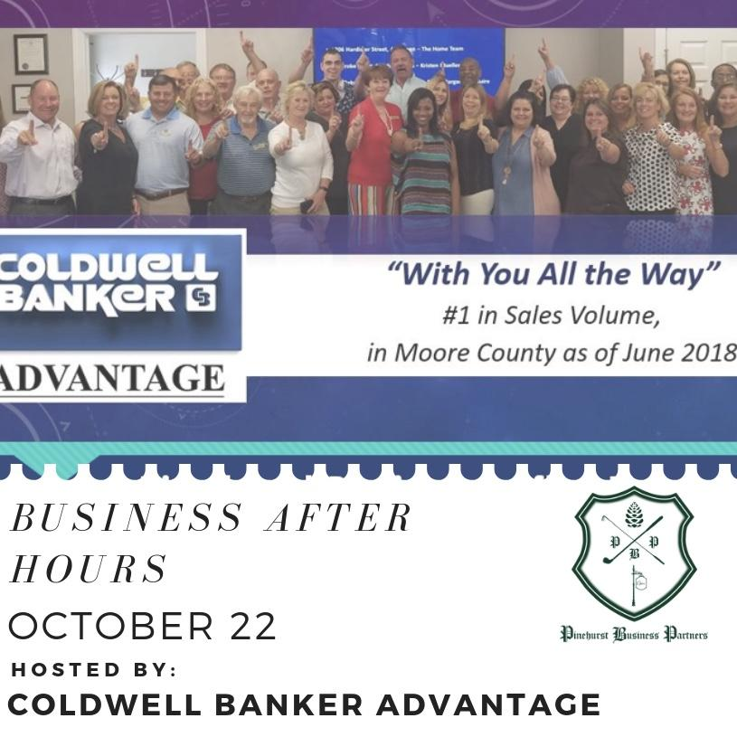 Business After Hours 10/22 @ Coldwell Banker Advantage | Southern Pines | North Carolina | United States