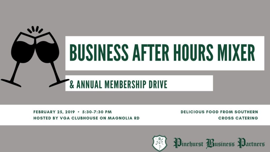 Business After Hours 2/25 @ VGA Clubhouse