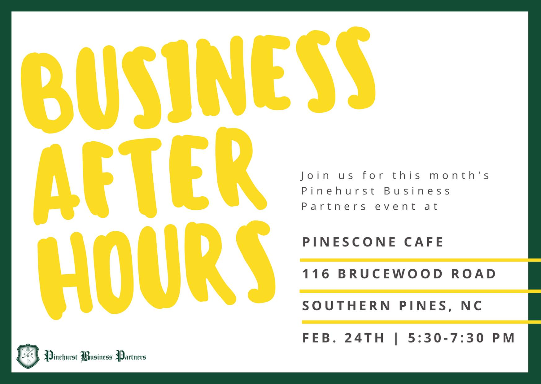 Business After Hours 2/24